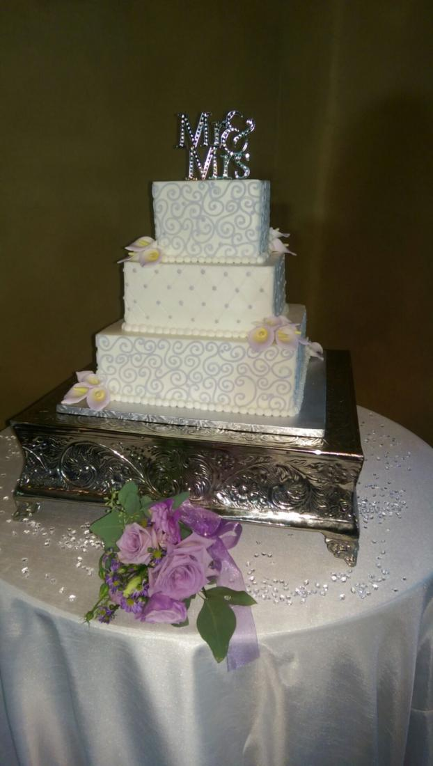 Wedding Cake by The Baking Grounds