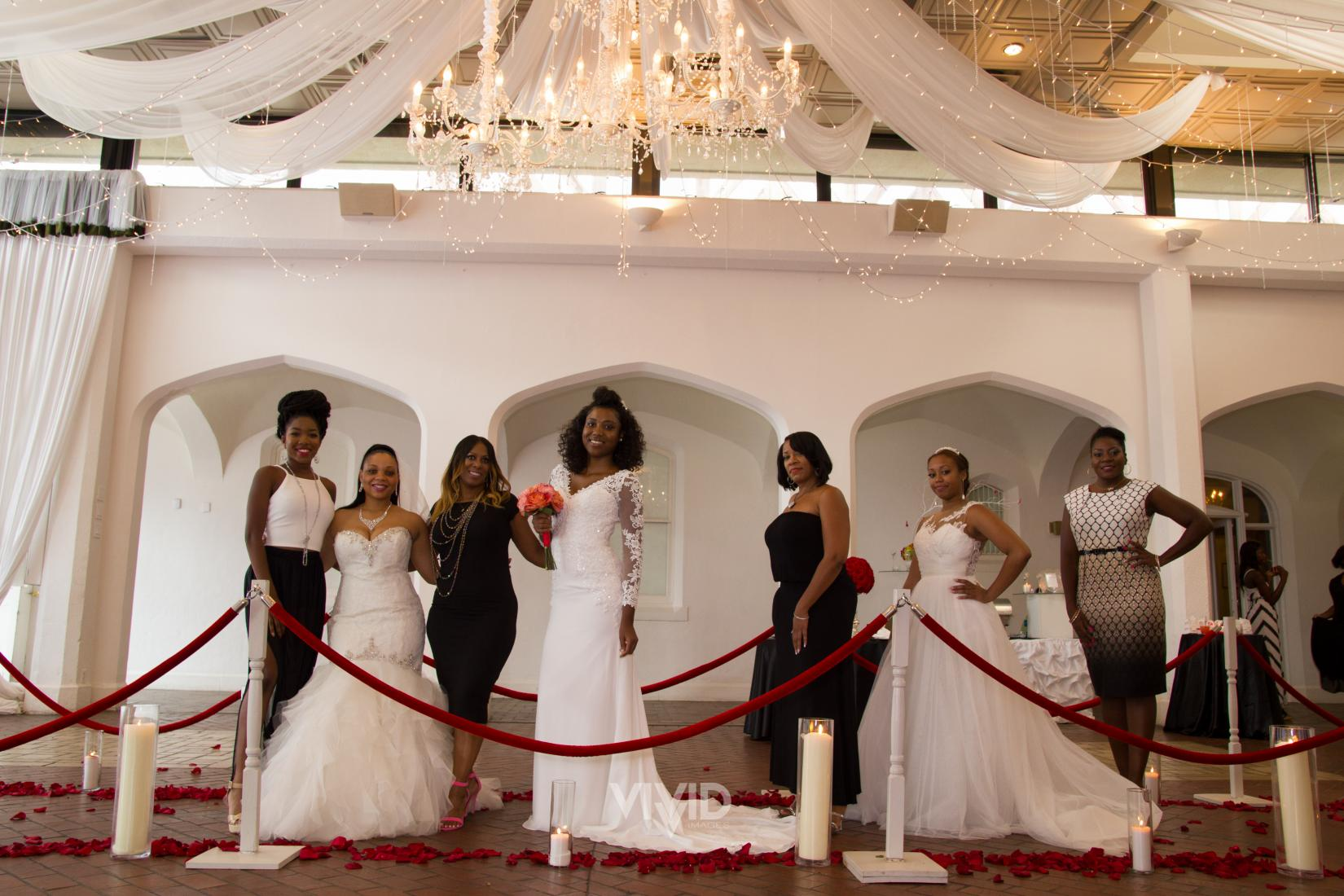 Bridal Show Models and Team